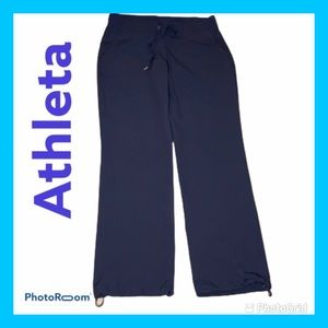 ATHLETA Trousers Synced Ankle Navy Blue Size 8